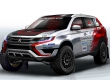 Mitsubishi подготовила гибридный Outlander для участия в ралли